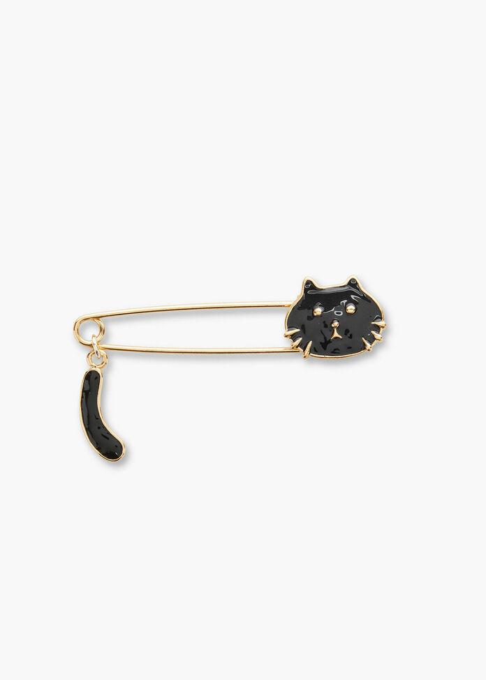Black Cat Pin, , hi-res