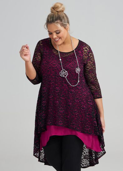 Midas Lace Tunic