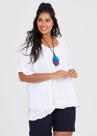 Voyage Frilly Top