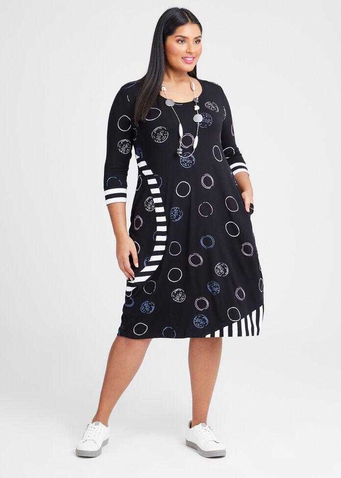 Natural Circle Of Love Dress, , hi-res