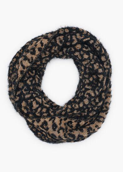Animal Fuzzy Knit Snood
