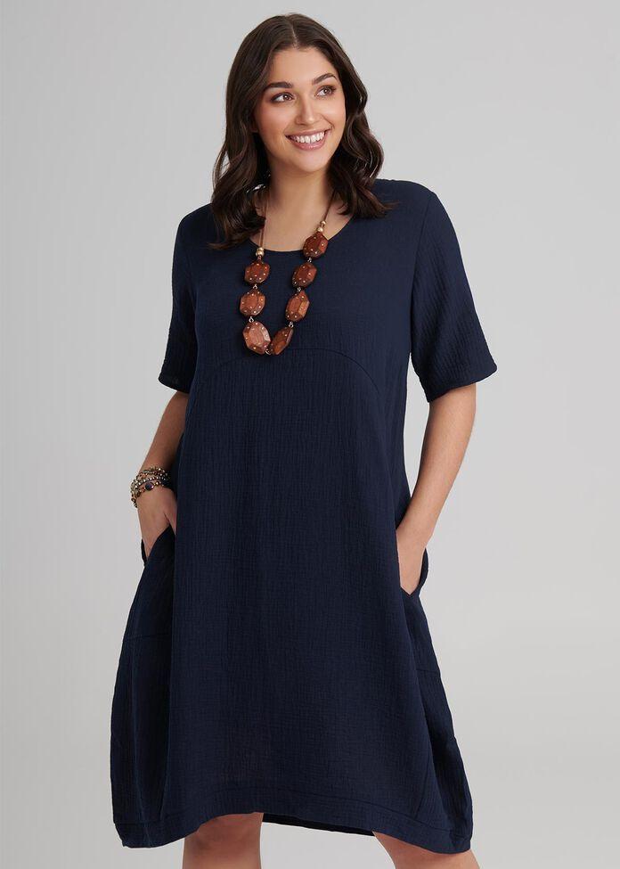 Cotton Mellieha Dress, , hi-res