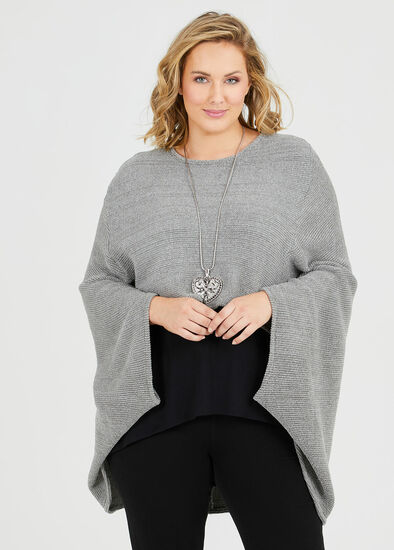 Storm By Your Side Poncho