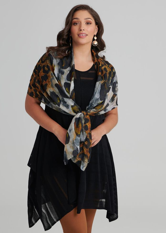 Going Rogue Silk Scarf, , hi-res