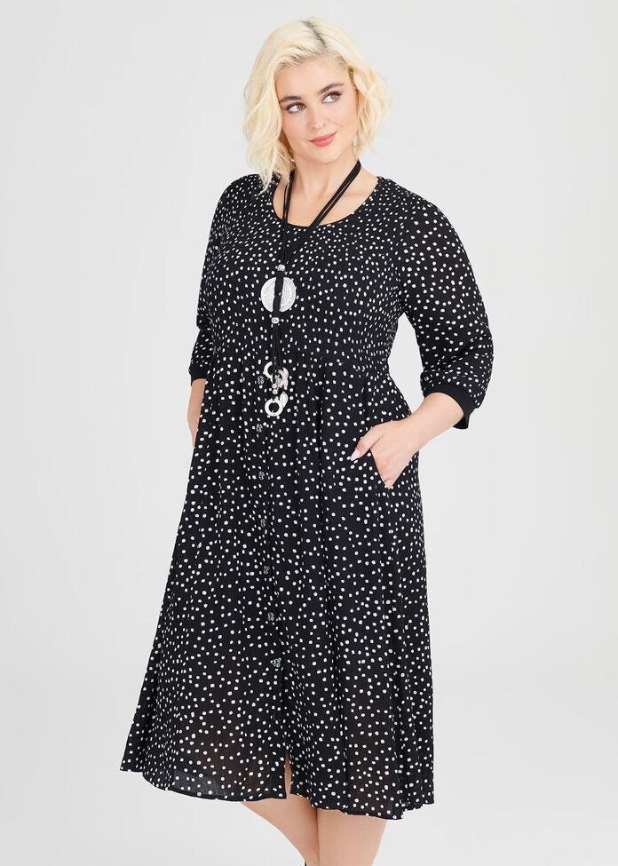 Carol Natural Dress, , hi-res