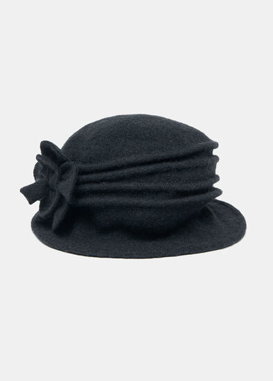 Rosette Cloche Hat