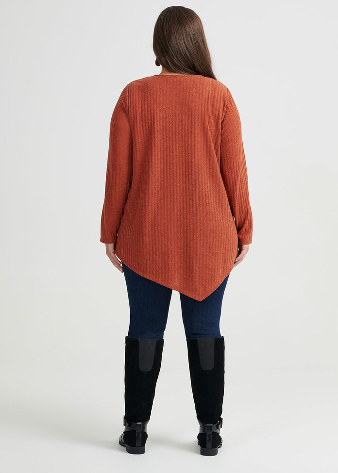 Twilight Button Sleeve Top, , hi-res