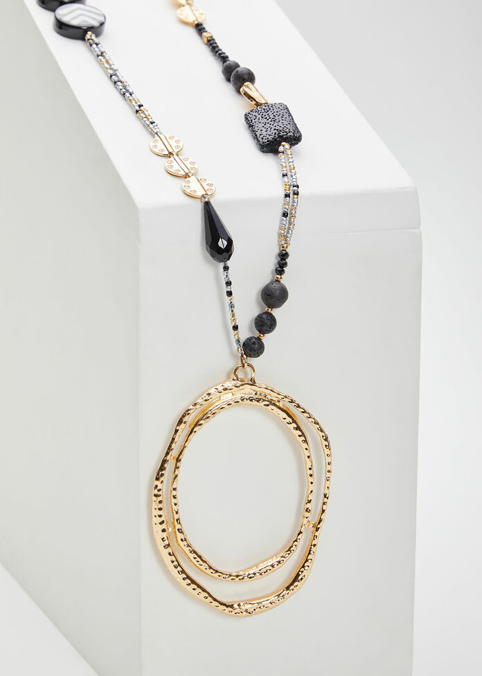 Gold Ring Necklace, , hi-res