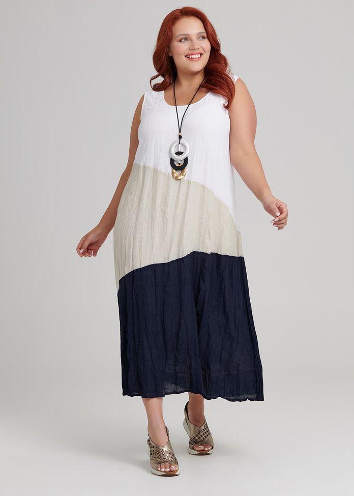 Helen Mix Dress, , hi-res