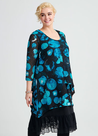 Watercolour Spot Tunic