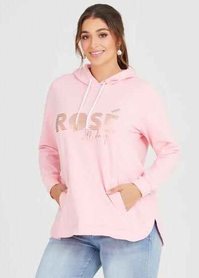 Organic Rose Hoodie