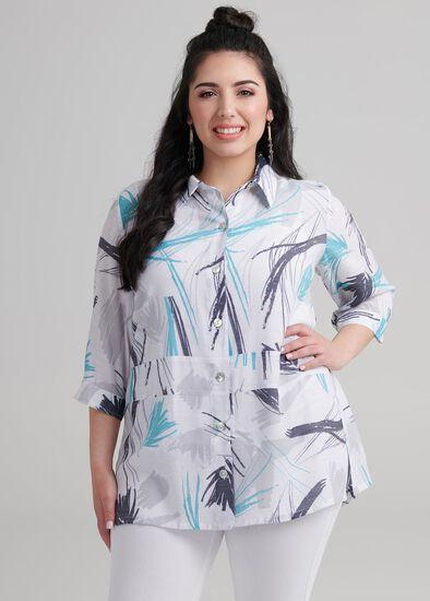 Petite Saltwater Shirt