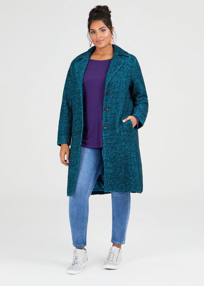 Wool Bamboo Top, , hi-res