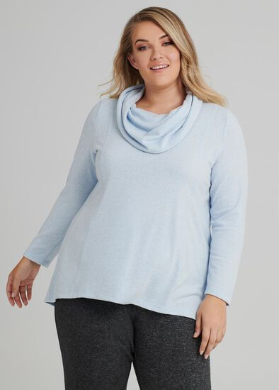 Cozy Cowl Top