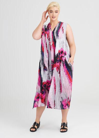 Calypso Maxi Viscose Dress