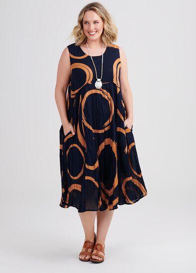 Cotton Swirl Dress