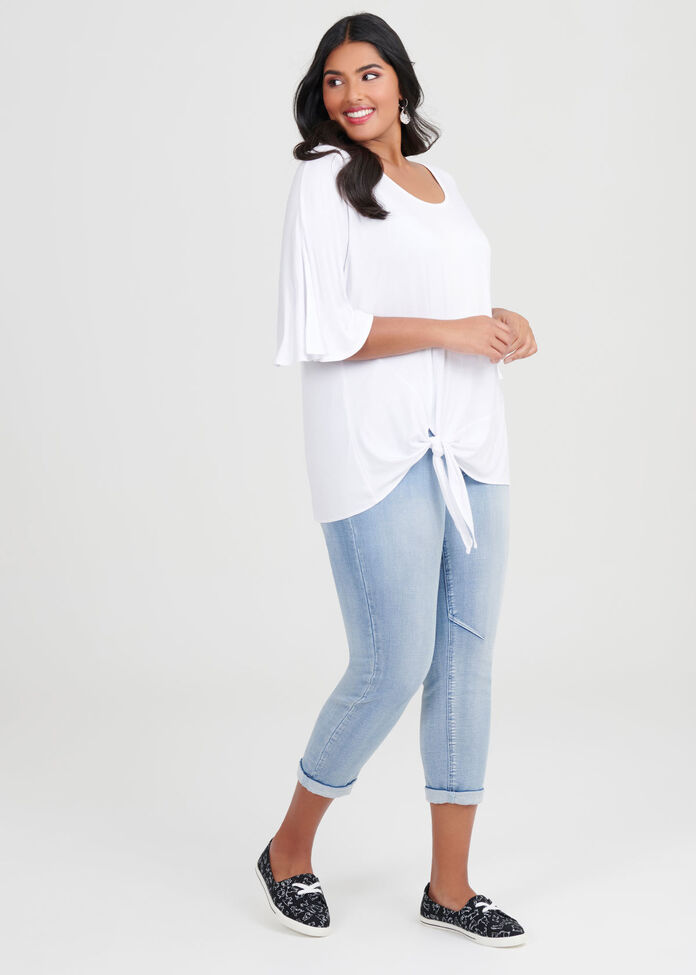 Bamboo Angelique Knot Top, , hi-res