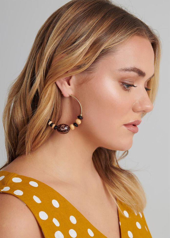 Mojave Hoop Earrings, , hi-res