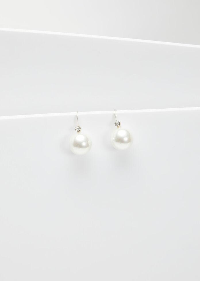 Pearl Drop Earrings, , hi-res