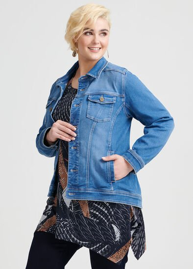 The Bamboo Denim Jacket