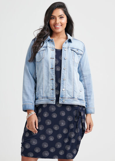The Best Fit Denim Jacket