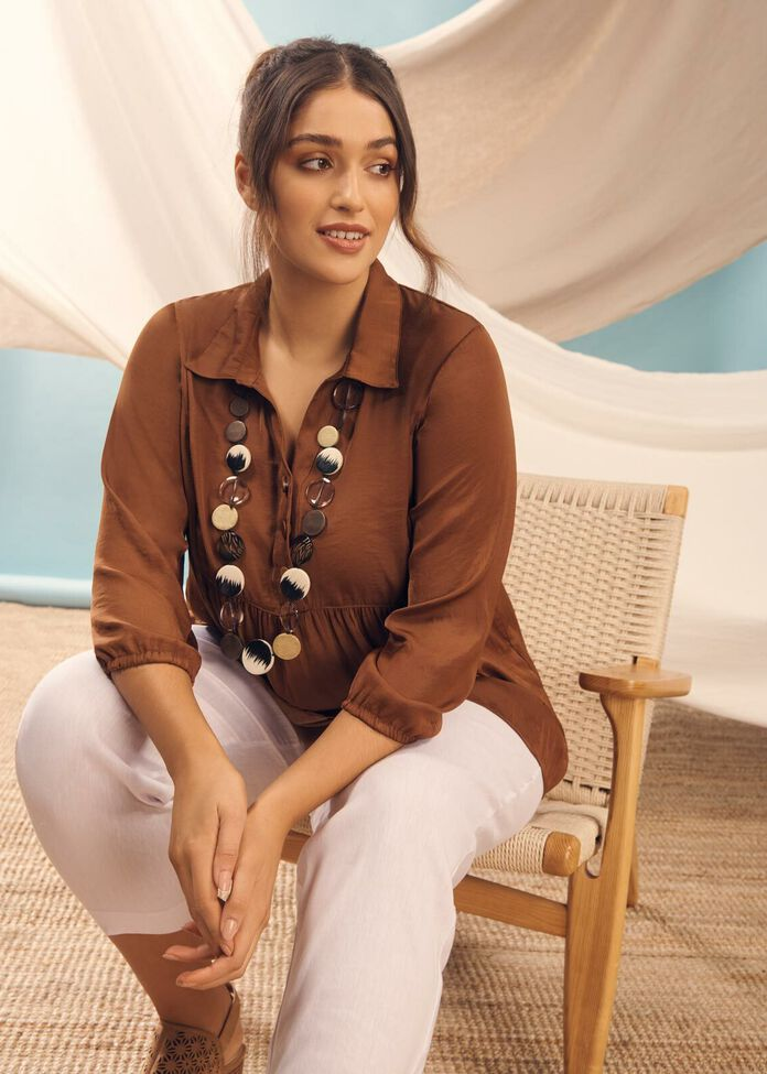 Luxe Grecian Casual Outfit, , hi-res