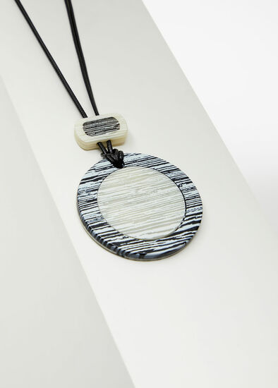 Monochrome Reversible Necklace