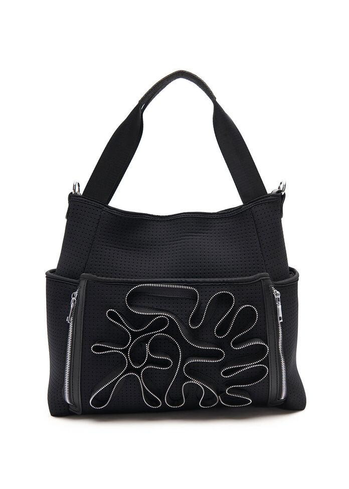 Traveller Zip Trim Bag, , hi-res
