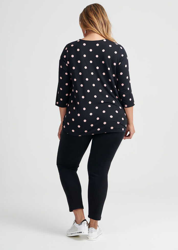 Bamboo Side Knot Top, , hi-res