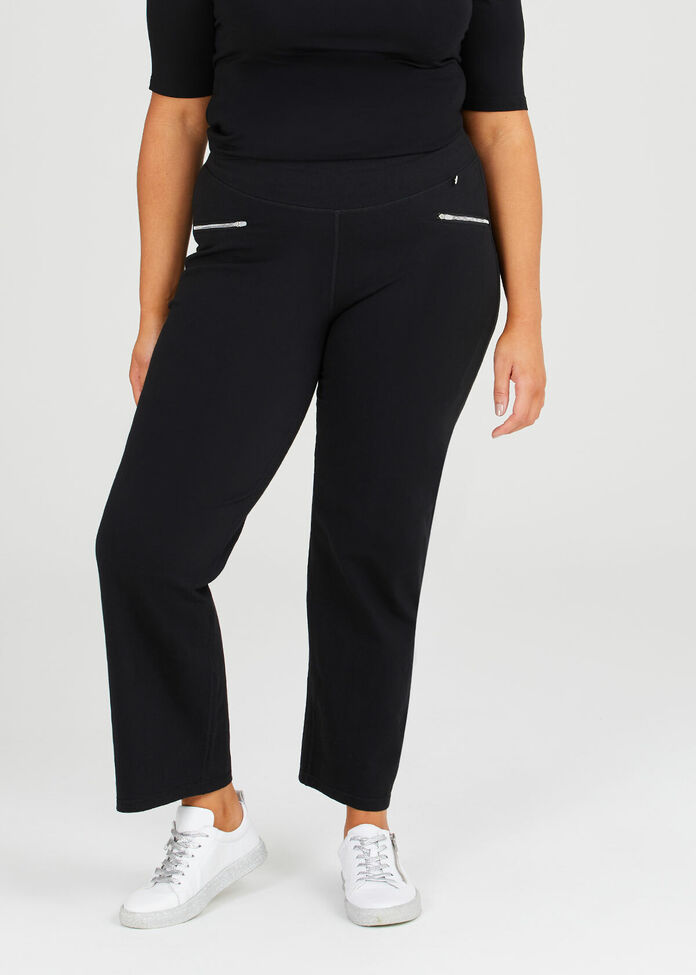 Yoga Zip Pant, , hi-res