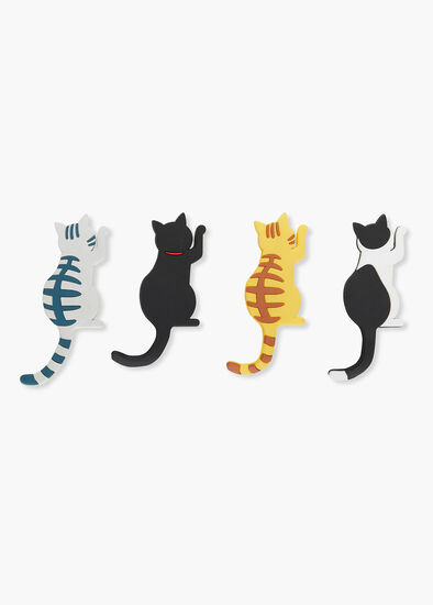 Set/4 Cat Magnets