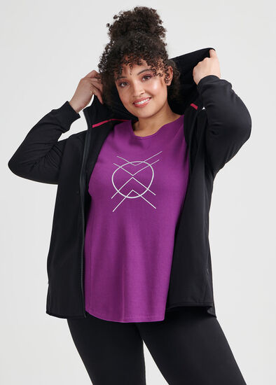 Contrast Organic Jacket