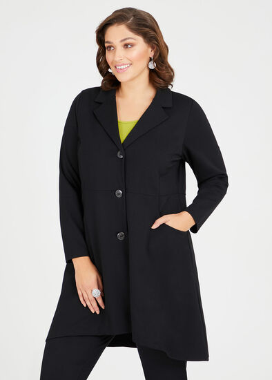 Bryn Bamboo Ponte Jacket