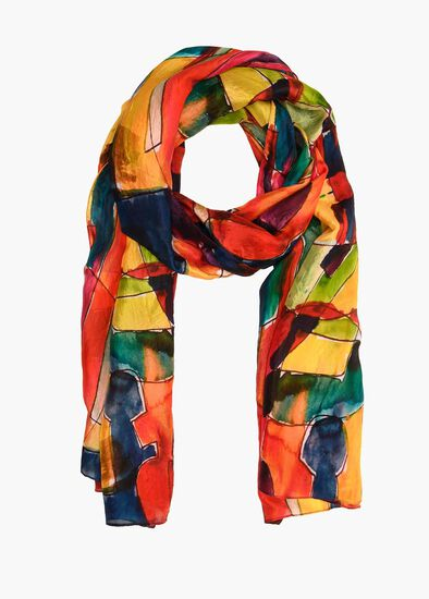 Primary Silk Scarf