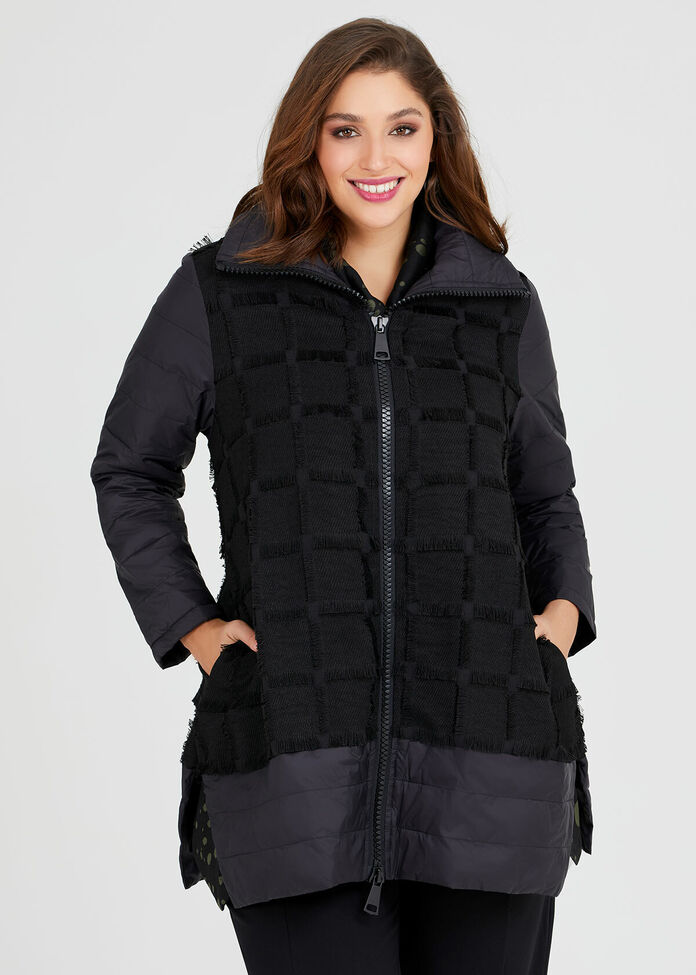 Trifecta Puffer Coat, , hi-res