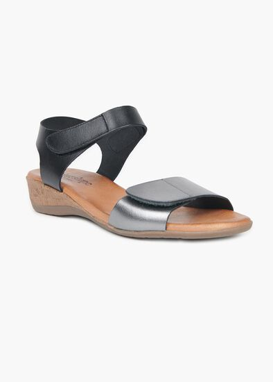 Barcelona Leather Sandal