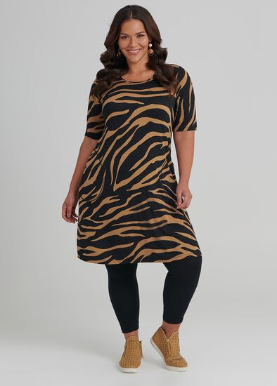 Zebra Bamboo Dress