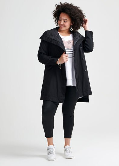 Total Obsessed Puffer Coat