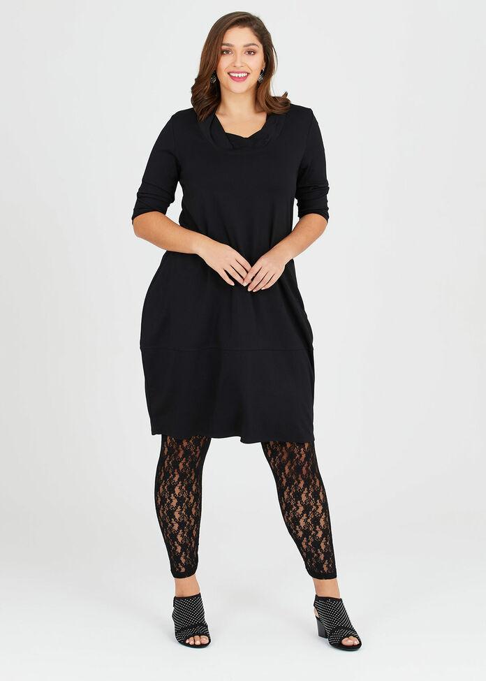 Filigree Lace Legging, , hi-res