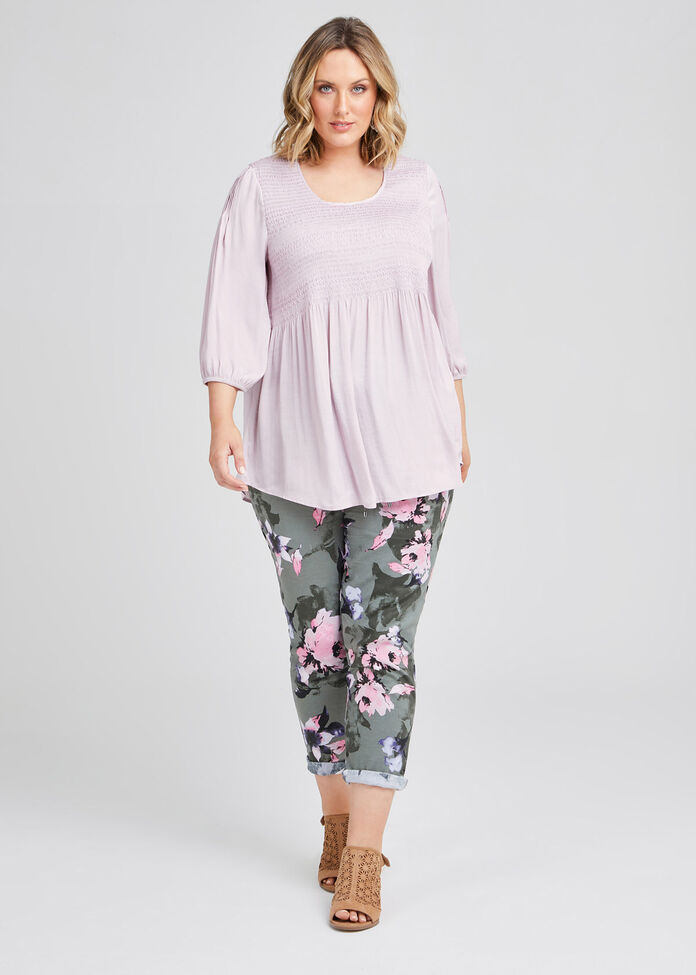 Mantra Luxe Shirred Tunic, , hi-res