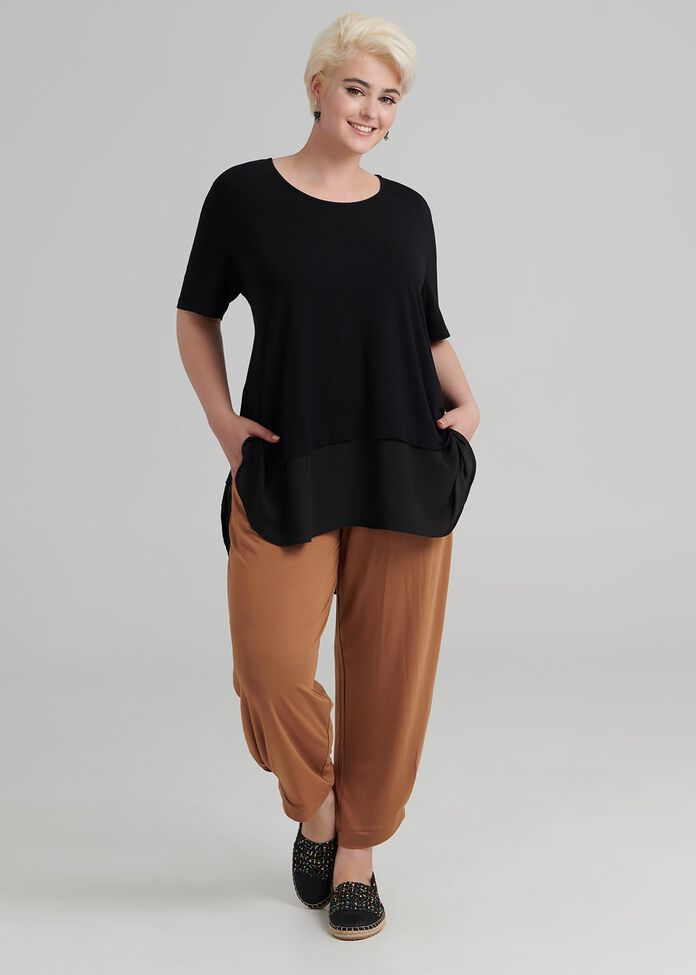 Bamboo Ruche Tunic, , hi-res
