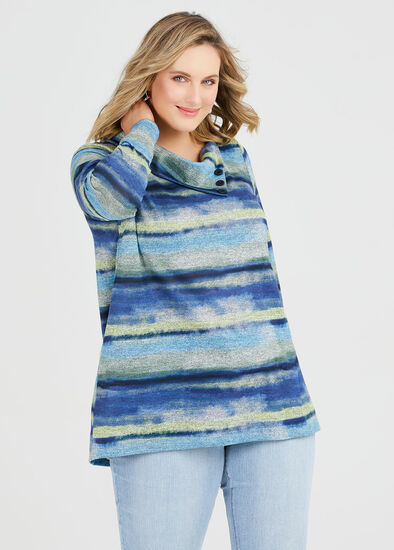 Cosy Waves Stripe Top