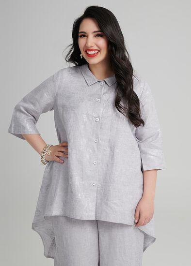 Petite Kasbah Linen Shirt