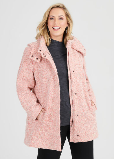 Romance Hooded Coat