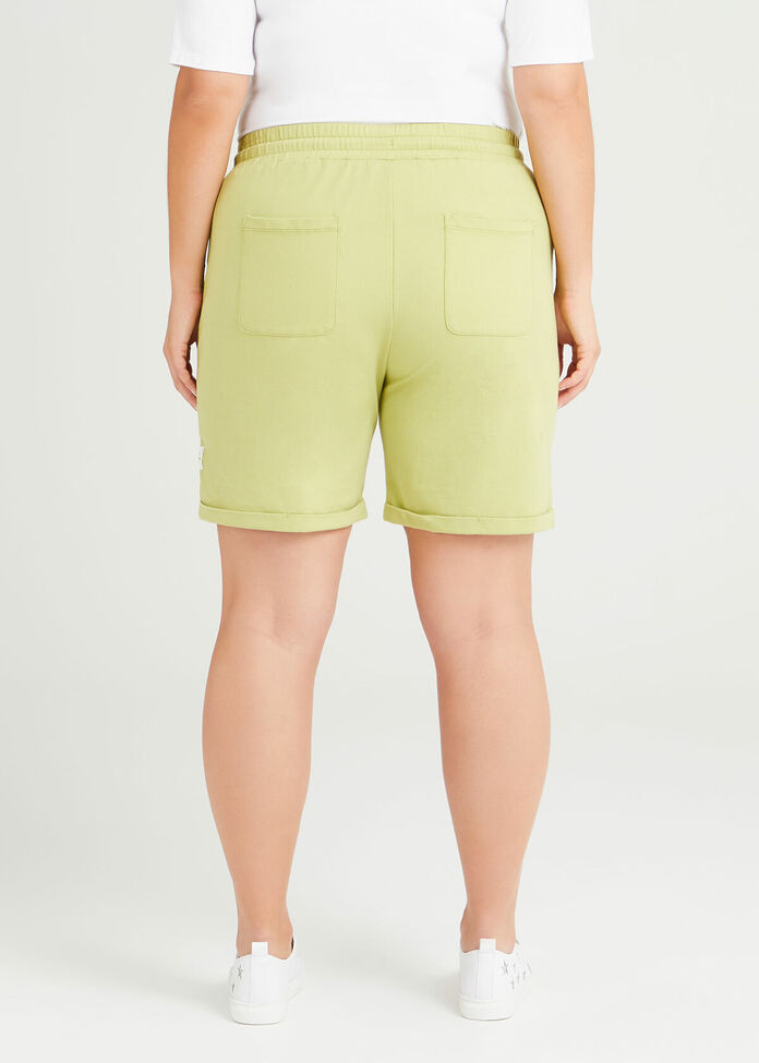 Organic Jasmine Sweat Short, , hi-res
