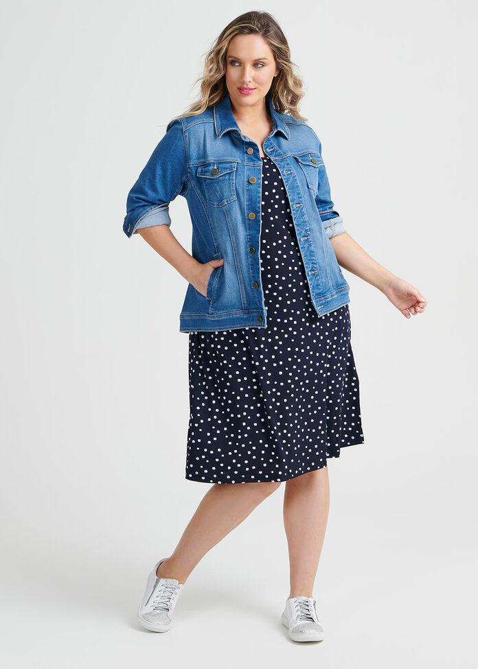Dash Dot Dress, , hi-res