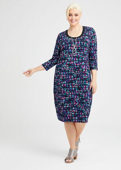 Bamboo Kaleidoscope Dress
