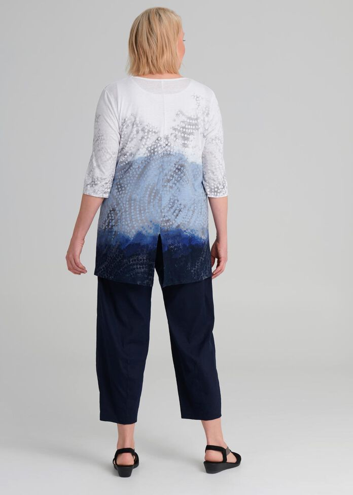 Berber Linen Top, , hi-res