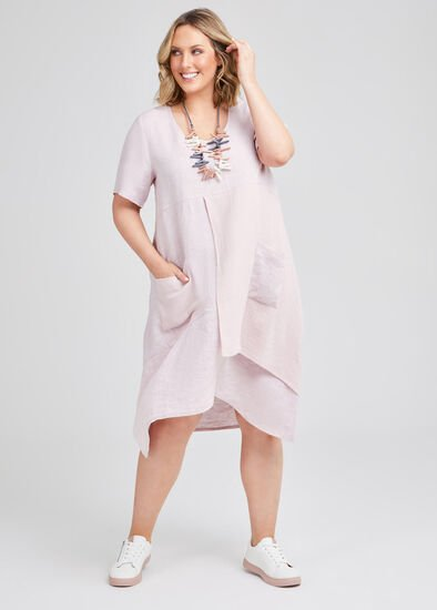 Namaste Linen & Gauze Dress
