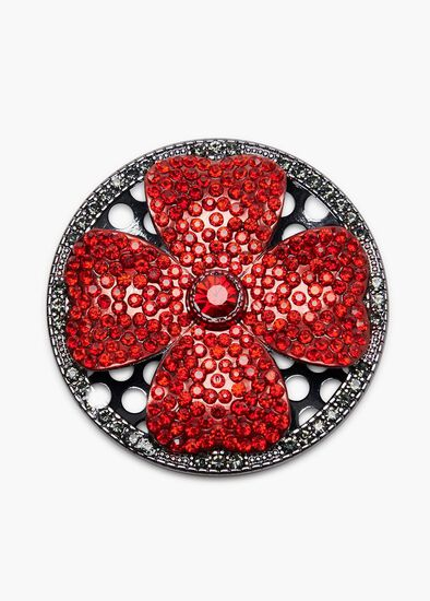 Open Bloom Brooch